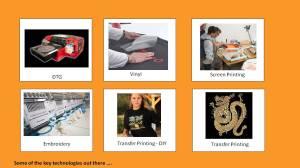 Garment Decoration Technologies