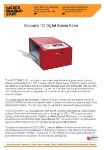RISO Digital Screen Makers 3